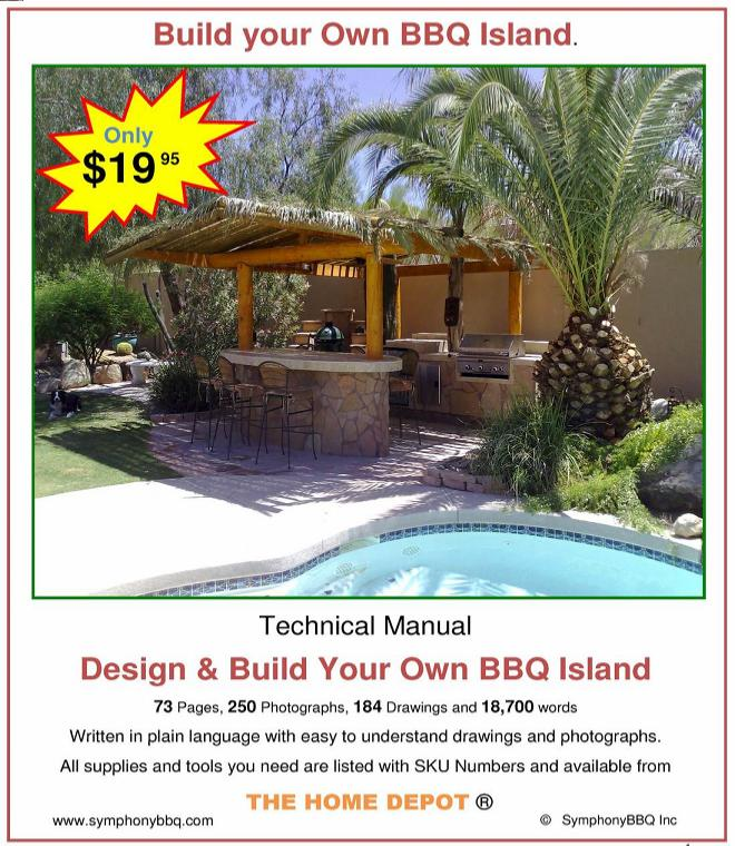 Symphony Bbq Custom Design Outdoor Kitchens Diy Bbq Island